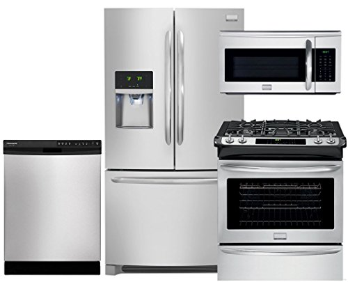 Frigidaire Gallery 4-Piece Stainless Steel Package, FGHB2...