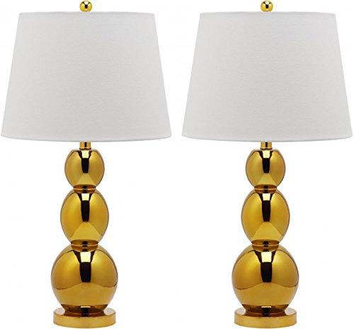 - Safavieh Jayne Three Sphere Glass Lamp, Set of 2
