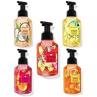 Bath and Body Works Gentle Foaming Hand Soap Set- Watermelon Lemonade, Raspberry Tangerine, Orange Sunrise, Vanilla…