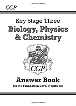 Book KS3 Science Answers for Workbooks (Bio/Chem/Phys) - Foundation