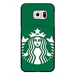 Classic Design Starbucks Logo Samsung Galaxy S6 Edge Phone Case,Starbucks Phone Case For Samsung Galaxy S6 Edge Hard Plastic Case Cover