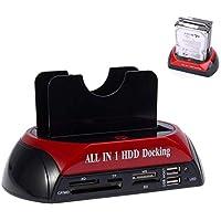 Alfais 4211 3.5 2.5 USB IDE SATA Esata HDD Hard Disk Masaüstü Dock Stand