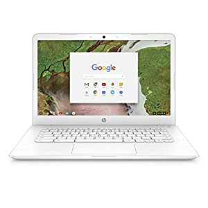 HP Premium High Performance 14 inch FHD IPS Multitouch Chromebook, Intel Celeron N3350 up to 2.4GHz, 4GB RAM, 32GB eMMC, 802.11ac WiFi, Webcam, Bluetooth, Chrome OS (Certified Refurbished)