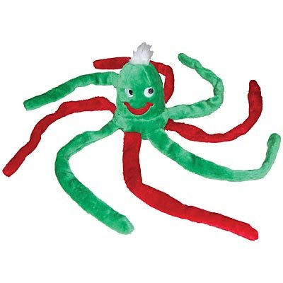 Colorful Plush Octopus Dog Toy, My Pet Supplies