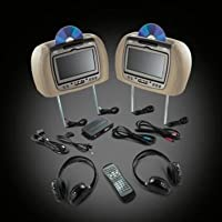 Genuine GM Accessories 22840268 Head Restraint DVD System