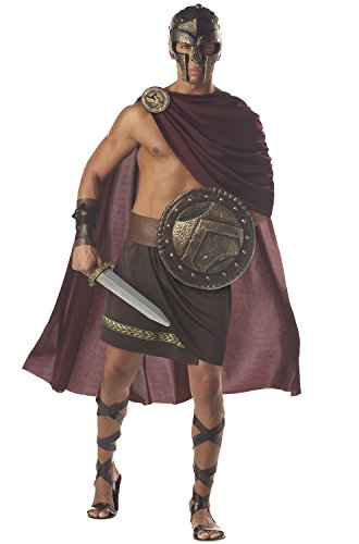 California Costumes Spartan Warrior Costume Size: Brown Medium ()