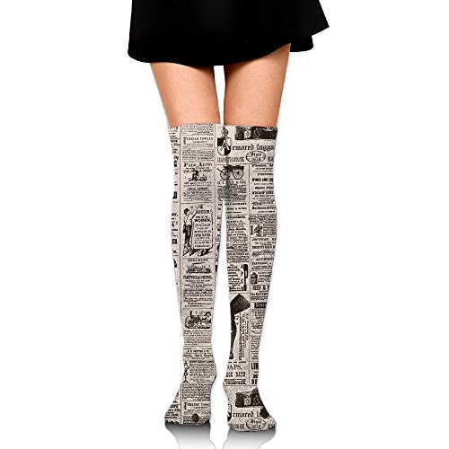 CUUO Atticus' Is A Deep Reader When It Comes To Newspapers Comfortable Boot Stocking Leg Warmer For Girls And Women-25.5 - St Atticus