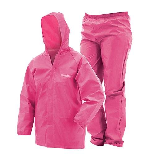 Frogg Toggs Youth Ultra-Lite2 Suit, Large, Pink