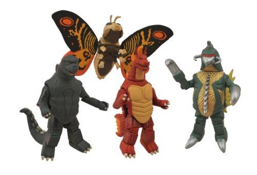 Diamond Select Toys Godzilla Classic Minimates Series 1 Box Set