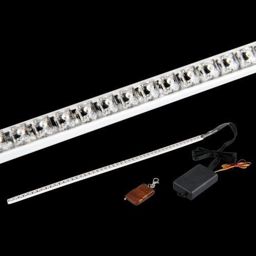 3 opinioni per CARCHET® STROBO STRISCIA 48 LED LUCI ROSSO KNIGHT RIDER X AUTO