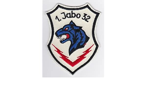 PATCHMANIA Applikation aufbügler Parches Stick Emblema Parche German Air Force Patch 32 jabog Tornado 321 sqn Lech Quemador Panther 9,4 cmx 7,0 cm: Amazon.es: Hogar