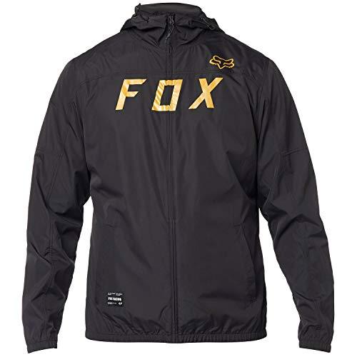 Fox Head Men's Windbreaker, Black, M (Fox Jackets For Men)