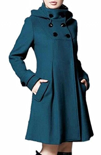 Double Breast Trench Coat - 7
