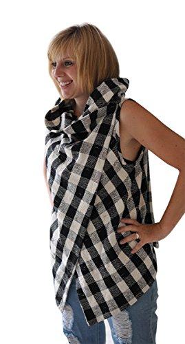 Passend Damen Haremshose handgewebte 100 Schachmatt Sommer Tunika Bluse bonzaai Baumwolle zu Oberteil Originelles Top 4qanv