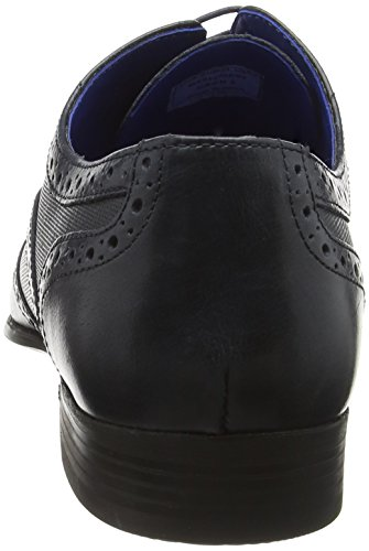 Uomo Red 2 Blu Basse Navy Stringate Brogue Scarpe Tape Carn rBBnw0x