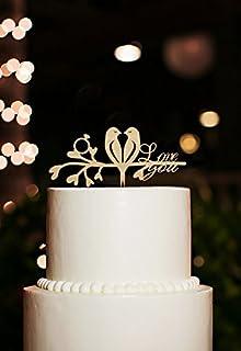 Amazon.com: Charming Love Bird Cake Topper: \