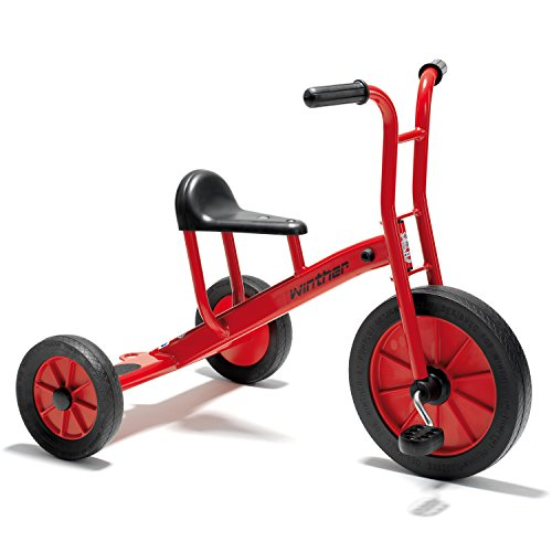 Winther WIN452 27-1/2'' Viking Tricycle, Large Grade Kindergarten to 1, 18.98'' Height, 23.19'' Wide, 28.5'' Length by Winther