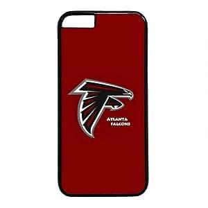 Atlanta Falcons Theme Case for IPhone 6 PC Material Black