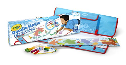 Crayola Mat-Ocean Doodle Magic Color (Egg Free Markers)