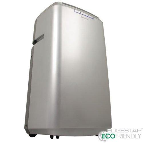 EdgeStar Server Room 14,000 BTU Dual Hose Portable Air Conditioner With Pump - Silver