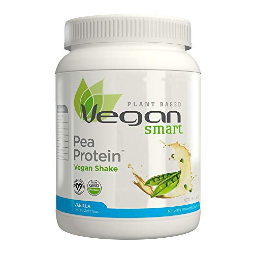 Naturade Plant Based VeganSmart Vegan Pea Protein - Vanilla - 20.63 oz