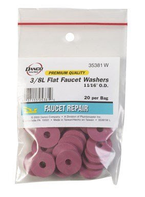 FLAT FAUCET WASHER 3/8L by DANCO MfrPartNo 35381W