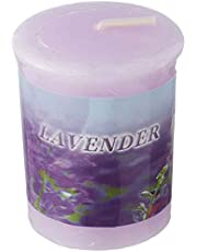 Kanawaty Votives Candle with Lavender Scent - Purple