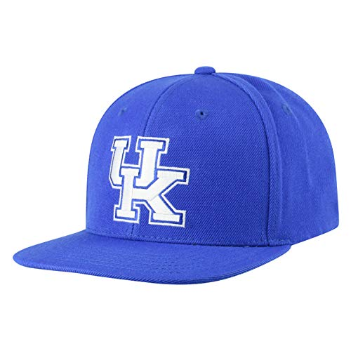 Top of the World Kentucky Wildcats Men's Flat Brim Hat Icon, Royal, One Fit ()