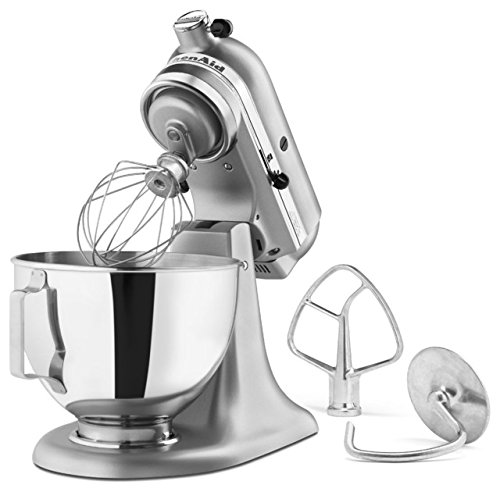 KitchenAid KSM85 4.5-Quart Tilt-Head Stand Mixer - Silver Metallic by KitchenAid