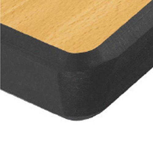 Mesa completamente soldada con borde de Trespa color verde Metalliform Holdings Ltd CRAFT-126-100-Trespa-C-LM-LG Metalliform CRAFT-126-TRES-10-LG-CDF-Lime