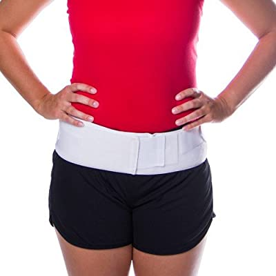 Trochanter Hip Support Belt for SI Joint & Pelvic Pain by BraceAbility