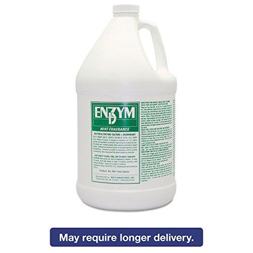 BGD1504 - Big D Industries Enzym D Digester Deodorant, Mint, 1gal, (Big D Mint Deodorant)