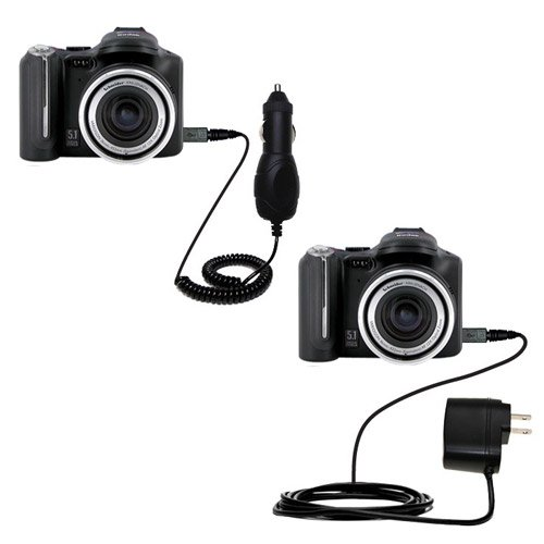 /DC Charge Accessory Bundle for the Kodak P850 P880. Kit includes the Gomadic Home and Car Chargers at a Money Saving Price. Based on TipExchange Technology ()