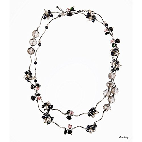 Gautrey Paris - Fantasia di Perla - Collier long ou choker