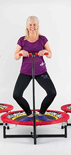 Fitness Trampoline with T-bar Handle by Boogie Bounce (Image #4)