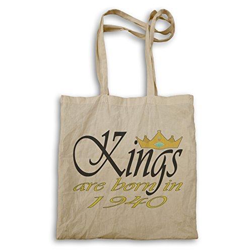Funny Novelty Boss Kings sind in 1940 geboren Tragetasche c379r