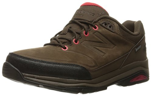 New Balance Men's 1300 Trail Walking Shoe, Brown/Red, 13 4E US (Mens New Balance Shoes Hiking)