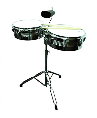 Gp Perc 13 In 14 In Metal Lat Timbale - LT156 by GP Percussion