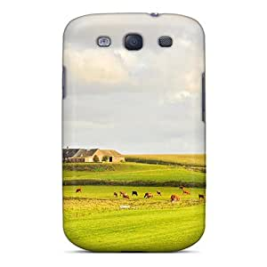 New Diy Design Beautiful Pastures In Denmark For Galaxy S3 Cases Comfortable For Lovers And Friends For Christmas Gifts