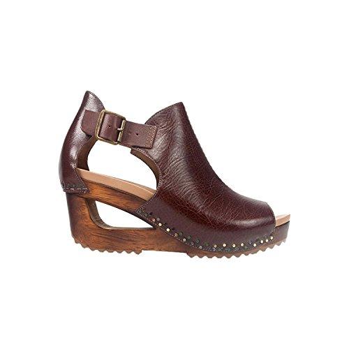 Dansko Women's Sable Brown Tumbled Calf Leather Brown 38 M EU / 7.5-8 B(M) US