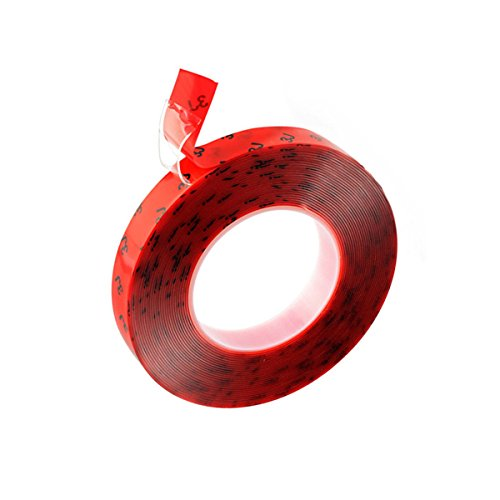 Aso Adhesive - Duct Tape Strong Adhesive Sticky Acrylic Double Sided Tape for Glass,Metal and Car Trim,32.8 ft x 0.393 Inches