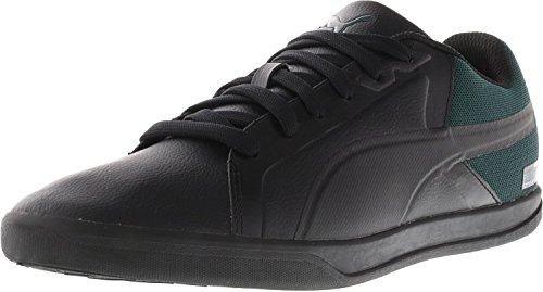 Puma Mens Mercedes Amg Petronas Tribunal Cheville Haute Couture Sneaker Puma Noir / Deep Sarcelle / Noir