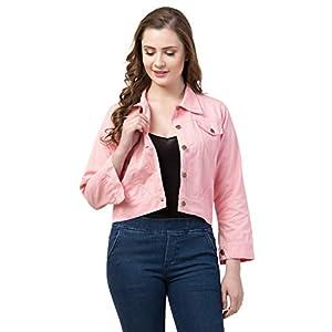 FUNDAY FASHION Self Design Plan Women Cotton Jacket