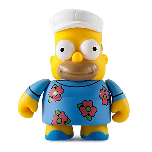 Kidrobot The Simpsons 25th Anniversary Mini Series 3-inch Figure - Fat Hat Homer