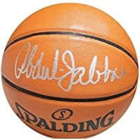 $149 » Kareem Abdul-Jabbar Los Angeles Lakers Signed Autograph NBA Game Basketball JSA Certified