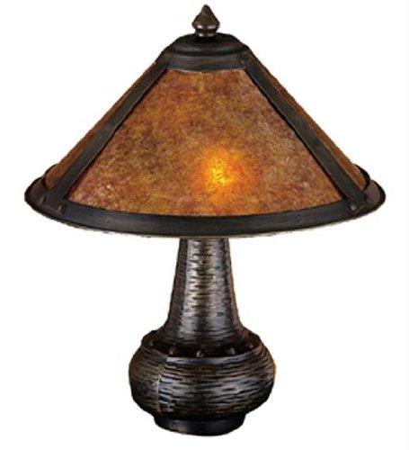 Meyda Tiffany Mission Floor Lamp (Van Erp Accent Lamp)