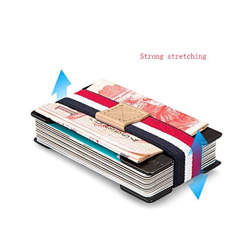 Visite color Métal Des Carte Pink Hommes Bancaire En La Black Dossier Titulaire Ultra mince Portefeuille Xuanlan Créatif De Pour Crédit xwfq4ICT