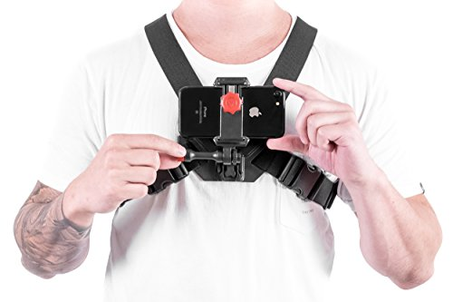 new concept c87b5 76185 Chest Mount Video Strap for iPhone 7 & 7 Plus