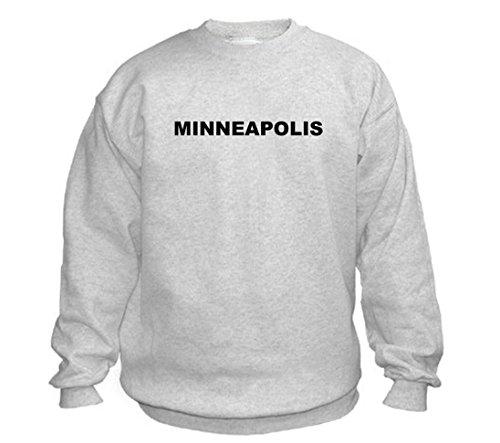 MINNEAPOLIS - City-series - Light Grey Sweatshirt - size XXL
