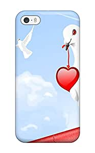 Tpu Case Cover Compatible For Iphone 5/5s/ Hot Case/ Love